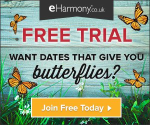 eHarmony Free Trial UK